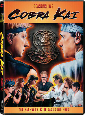 Cobra Kai: Seasons 1 & 2 [New DVD] 2 Pack