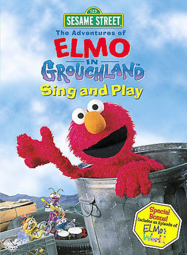 Sesame Street - The Adventures of Elmo in Grouchland: Sing and Play New DVD