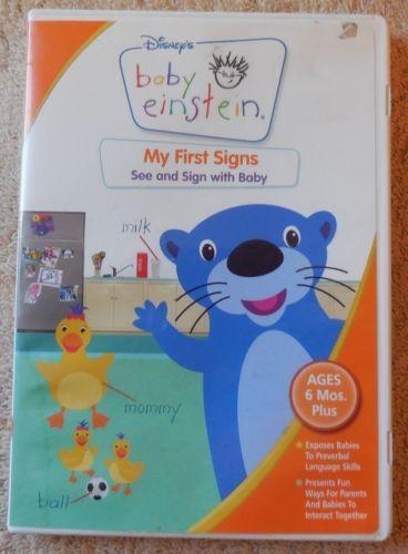 Baby Einstein My First Signs | eBay