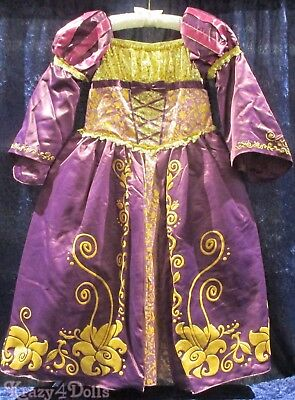 Disney Designer Fairytale Rapunzel Deluxe Girls Princess Costume - Deluxe Rapunzel Kostüme