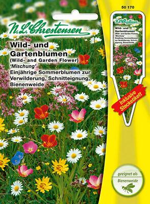 Garten, Wildblumen (Wild-und Gartenblumen Bienenweide Verwilderung Schnitteignung Samen 50170)
