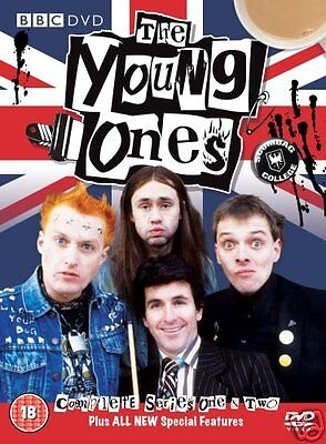 The Young Ones Complete Series 1 2  Bbc   Dvd    Rik Mayall   Brand New   Sealed