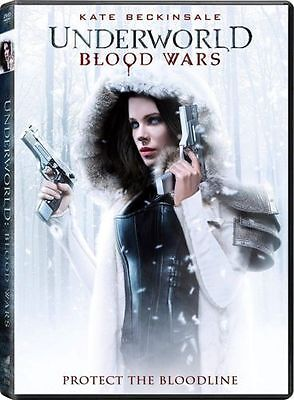 Underworld Blood Wars Dvd Kate Beckinsale Brand New   Sealed Usa 2017 Free Ship