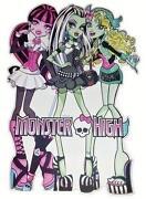 Monster High Wandtattoo