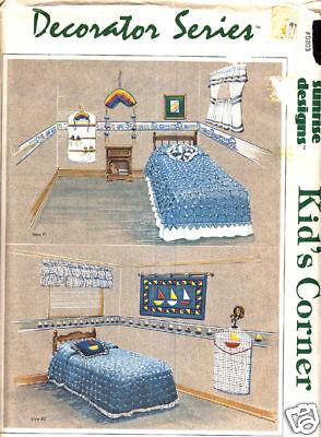 Basteln Bücher: #1058 Kinder Ecke Schlafzimmer Dekor Nähen