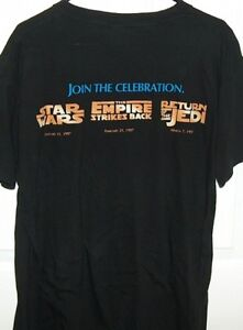 Star Wars The Trilogy Special Edition T-Shirt 1997 London Ontario image 2