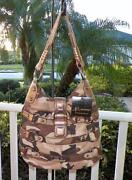 B Makowsky Handbag Camo