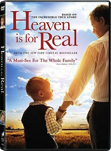 Heaven Is for Real (DVD, 2014) - NEW!!