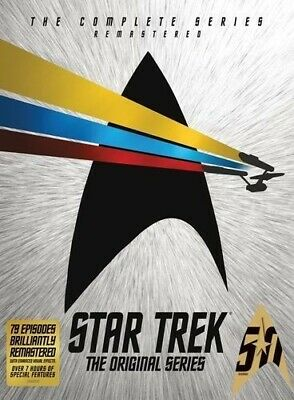Star Trek: The Original Series: The Complete Series [New DVD] Boxed Set, Full