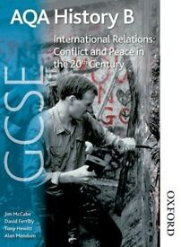 AQA gcse History B International Relations: Conflict and Peace in 20th Century