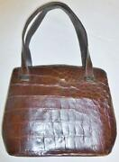 Antique Alligator Purse