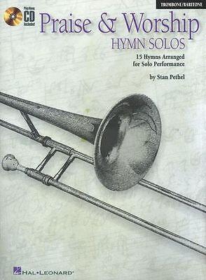 Worship Solos Trombone - Praise And Worship Hymn Solos Trombone Baritone Church Music Book & CD