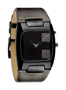 Montre nixon watch the banks leather cuir neuve new A086