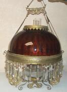 Brass Hanging Lamp