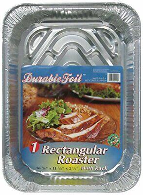Durable Foil 3-in-1 Roasting Pan, 12-3/4
