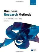 Business Research Methods Bryman