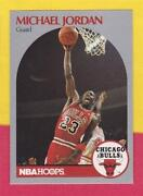 1990 NBA Hoops Michael Jordan Card