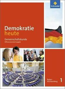 Demokratie heute 1 Baden-Württemberg, Schroedel-Verlag