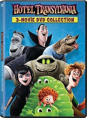 Hotel Transylvania 1 / Hotel Transylvania 2 & 3 DVD (Halloween Adam Sandler)