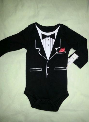 Tuxedo Onesie Baby Amp Toddler Clothing Ebay
