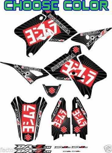 Drz 400 Graphics Decals Emblems Ebay
