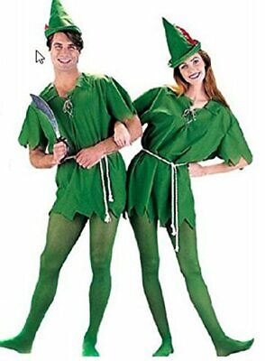 Peter Pan Halloween Costume For Adults (Peter Pan type Costume cosplay for adult (No tights) JAPAN)