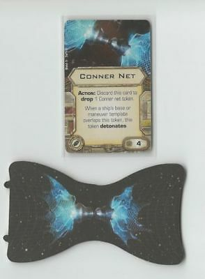 X-Wing Miniatures Conner Net bomb upgrade card + token for sale  Shipping to Canada