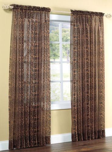 ... Contempocurtains Jungle Blackout Curtains Jungle Curtains Ebay ...