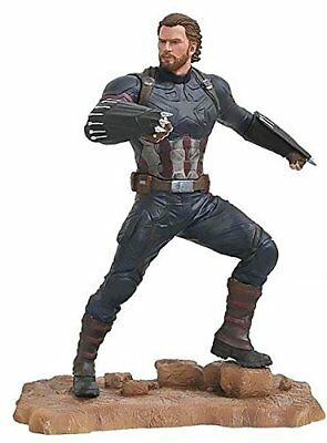 Diamond Select Toys Marvel Gallery Avengers Infinity War Movie Captain America P