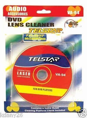 DVD VCD CD CD-ROM LENS CLEANER KIT ROM PLAYER CLEANING TV GAME WET/DRY Rom Lens Cleaner