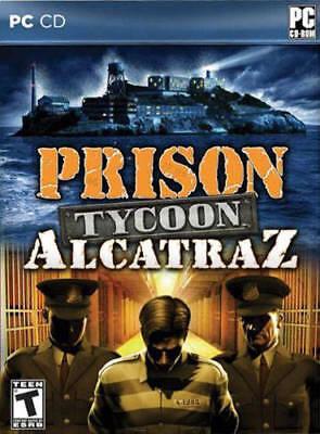 Computer Games - Prison Tycoon Alcatraz PC Games Windows 10 8 7 XP Computer management sim