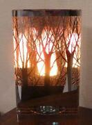 Silk Flame Lamp