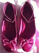 Girls Party Shoes Size 1