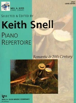 PIANO REPERTOIRE: ROMANTIC & 20TH CENTURY- LEVEL 7-SNELL MUSIC BOOK-NEW ON SALE!