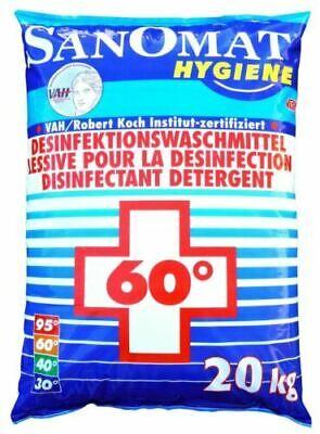 Sanomat Desinfektionswaschmittel 20Kg Sack DGHM & RKI Waschmittel + Desinfektion