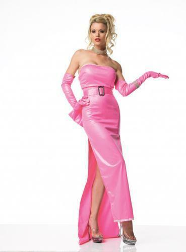 marilyn monroe pink costume ebay. Black Bedroom Furniture Sets. Home Design Ideas