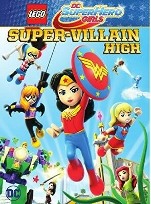 LEGO DC Super Hero Girls: Super-Villain High [New DVD] Amaray Case, Dolby (Girl Villains)