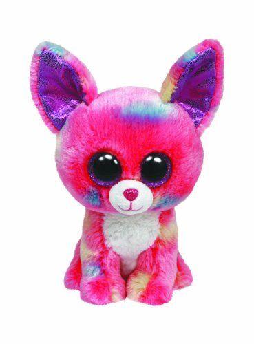"""Ty Beanie Boo 6"""" Plush - Pink Chihuahua Cancun"""