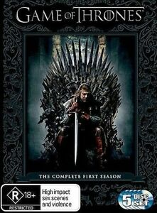 GAME OF THRONES TV Series: SEASON 1 = NEW R4 DVD