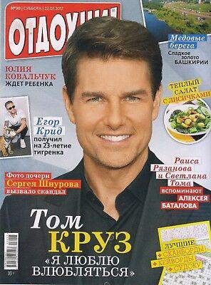MAGAZINE RUSSIAN OTDOHNI 22/07/17 TOM CRUISE EGOR KREED