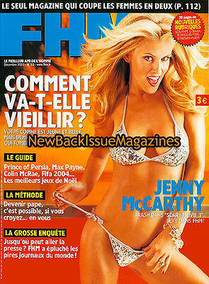 French Fhm 12 03 Jenny Mccarthy December 2003 New