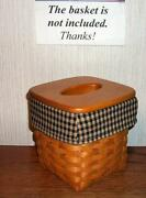 Longaberger Tall Tissue Liner