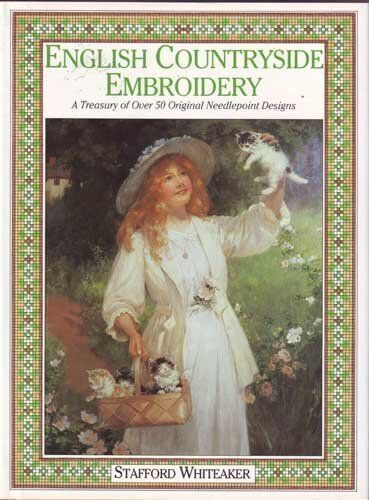 English Countryside Embroidery: A Treasury of Over 50 Exclusiv ,.9780712622806