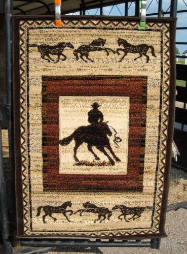 Horse Area Rug Ebay