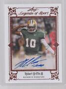 Robert Griffin Autograph Football Cards