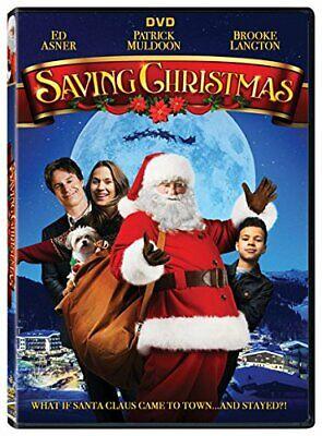 Saving Christmas Ed Asner Patrick Muldoon USED VERY GOOD DVD ()