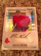 2011 Bowman Chrome Miles Head