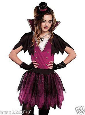 NEW Vamp vampire Costume TWEEN Large size 10-12 girl - Tween Vampir Kostüm