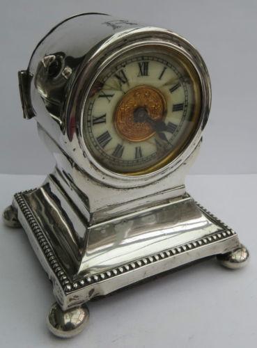Sterling Silver Clock Ebay