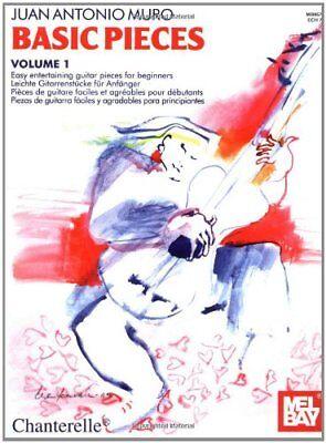 "MEL BAY-JUAN ANTONIO MURO ""BASIC PIECES"" VOLUME 1 MUSIC BOOK-BRAND NEW ON SALE!!"